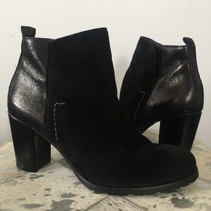 Paul Green Suede Rockin Ankle Boot